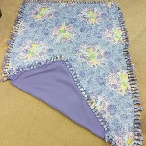 Other - Kids fleece Tinkerbell double sided blanket